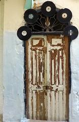 Doors Of Tanger No. 5 (TablinumCarlson) Tags: afrika africa marokko morocco tanger tür door medina altstadt city old town leica fassade tangier طنجة tandscha tanga maghreb strait gibraltar maroc northern nordafrika platte lp venyl schallplatte dlux 6 record musik music