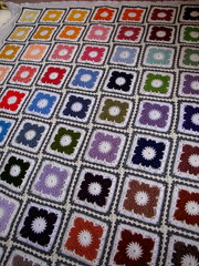 WILLOW CROCHET BLANKET (Patchwork Daily Desire) Tags: jayg crochet crafts cozy yarn willowcrochet willowcrochetblock blanket patchworkdailydesire summer sky block nature