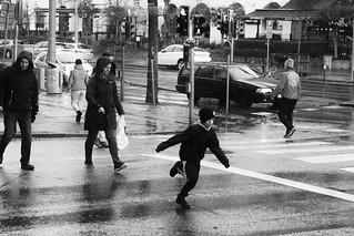 pedestrian crossing race(explored)