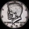 """Kennedy Half Dollar Skull #25 (Seth Basista Engraving) Tags: seth basista original hobo nickel society nickels coin skull coins youngstown ohio metal carved carving carvings """"seth carvings"""" ohns usn sculpture skeleton halloween jewelry necklace ring antique unique obscure scary creepy elizabeth queen best austintown hand made etsy oddity edc every day carry everyday everydaycarry"""
