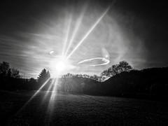 Mysterious sky ... (anubis131) Tags: schatten licht sonne sonnenuntergang kreiswolke wolken himmel schwarzweis spectacular extremesky abstract mysterious sunshine skypoetry blackwhite shadow light circlecloud sunset sun weather clouds sky freudenbergerpiller iphone7plus anubis1301