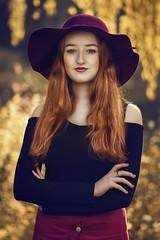 Goldener Herbst (HarryK Fotografie) Tags: golden herbst gold farben autumn fashion portrait model girl foto fotografie fotograf availablelight outdoor nikon sun sunshine photo photographer photography picture