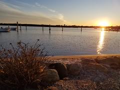 Sunset (quinn.anya) Tags: sunset water marthasvineyard edgartown rocks sand