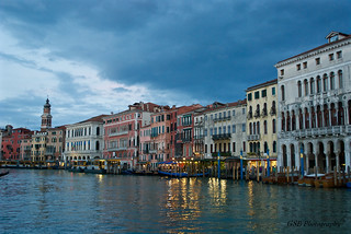 Grand Canal Blue Hour, Venice