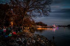 Middle River Lighted Boat Parade (Bill Adams) Tags: explore middleriver maryland baltimorecounty wilsonpointpark lightedboatparade shoreline a7rii a7r2 voigtlander 12mm darkheadcreek