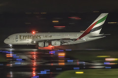 Emirates Airbus A380 A6-EOP (antowo1) Tags: travel traveller outdoor airport aeroporto aircraft flughafen flugzeug touchdown badweather rain regen a380 airbus emirates