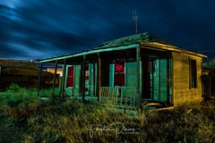 What lies within? (Aztravelgrl (Forgotten Places Photography)) Tags: streetphotography nightphotography lowlight longexposure ghosttown abandoned usa nevada goldfield