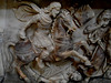 Saint James the Moor-slayer (Spanish: Santiago Matamoros) - Detail - sculpture end 16th-beginning 17th century - San Severo al Pendino Church in Naples (Carlo Raso) Tags: saintjames symbol altar santiagomatamoros sanseveroalpendino naples