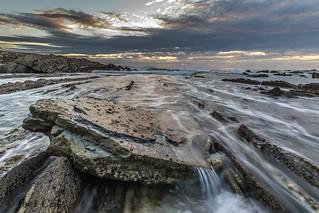 El agua contra la roca!!!!