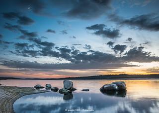 Moon & stones