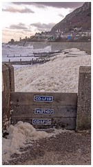 View from the Promenade. (peterdouglas1) Tags: northwalescoast northwales llanfairfechan promenade hightide