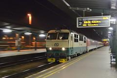 Medzištátny vlak EuroNight štyristo štyridsaťštyri Slovakia . . . by Šimon Prečuch - ČD 150 209, EN 444, Žilina