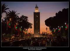 Koutoubia Mosque (Hagens_world) Tags: mosque marrakesch architecture city urban sky marokko dusk abenddämmerung africa afrika architektur himmel landschaft maroc marrakech marrakesh morocco moschee natur nature stadt arquitectura cielo natura paisaje medina marrakeschsafi canon canoneos5dmarkiii mar