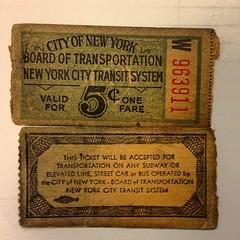 Subway Ticket (Holden Caulf) Tags: lonewolf thebigapple