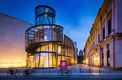 _MG_2187_web - DHM spiral (AlexDROP) Tags: 2017 berlin germany deutschland travel architecture color city wideangle urban night scape canon6d ef16354lis historicalplace best iconic famous mustsee picturesque postcard hdr europe