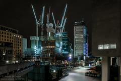 Southbank Place (James D Evans - Architectural Photographer) Tags: southbank southbankplace architecture construction cranes lighting lights nightphotography london