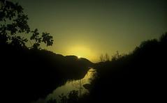 Isonzo (3) (tullio dainese) Tags: 1979 isonzo soča gorizia gorica görz tramonto sunset pôrdosol fiume river rio