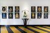 Portraits of Nguyen Emperors at La Residence Hotel & Spa, Hue City (La Residence Hue Hotel & Spa) Tags: red nguyenemperors nguyendynasty nguyenkings laresidencehotelspa huecity gallery painting vietnam luxuryhotels