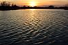 Rippled (NaturalLight) Tags: ripples rippled sunset lake chisholmcreekpark wichita kansas