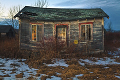 Route 20, Carlisle New York (Chicago_Tim) Tags: decay motel carlisle newyork highway upstate central abandoned wood texture building tiny old hotel cabin dusk twilight outdoor