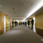 Meeting space of Takenaka Corporation head office (竹中工務店本社)