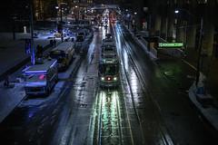 501 (Ben Roffelsen Photography) Tags: toronto nathanphillipssquare queen 501 streetcar ttc snow