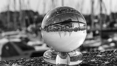 Black and White - 4248 (YᗩSᗰIᘉᗴ HᗴᘉS +13 000 000 thx) Tags: noiretblanc blackandwhite bn bw 7dwf monochrome boat blankenberge belgium be eu europa europe hensyasmine yasminehens cristal bouledecristal crystal crystalball