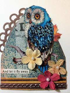 Owl Gothic Arch ATC
