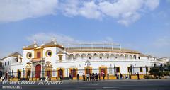 La Maestranza (Mariano Alvaro) Tags: plaza toros sevilla maestranza real lidia nubes cielo
