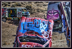 CarForest_5960d (bjarne.winkler) Tags: photo foto safari 2017 2 when driving through nevada one always has stop car forest or it is called international care home graffiti