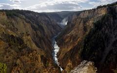 Yellowstone Falls from Artist Point (jasbond007) Tags: lowerfalls yellowstonefalls yellowstoneriver artistpoint canyon grandcanyonoftheyellowstone yellowstonenationalpark wyoming usa jasbond007 nigeldawson copyrightnigeldawson2017 pentax k3ii smcpentaxda18135mmf3556edalifdcwr