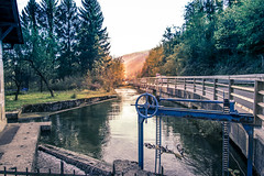 Bistra - small power plant (rlubej) Tags: notranjska streams industry