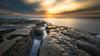 Alien Egg (David Colombo Photography) Tags: hospitalsreef lajolla reef sunset alien egg clouds longexposure pacific ocean water rock nikon d800 davidcolombo davidcolombophotography outdoor seascape landscape