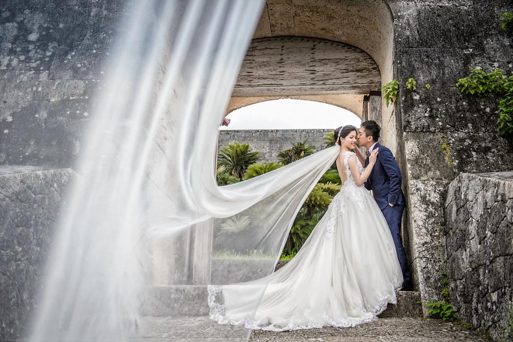 沖繩婚紗 首里城婚紗拍攝