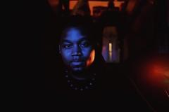 Blue portrait (_Okobe_) Tags: music jazz soul portrait blue black afro afropunk