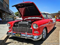 1955 Chevy Belair (robtm2010) Tags: encinitas california usa iphone iphone7 car carshow auto automobile musclecar motorvehicle vehicle classic classiccar gm generalmotors chevy chevrolet belair 1955