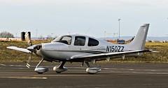 N150ZZ CIRRUS SR22 NEWCASTLE (toowoomba surfer) Tags: aircraft aviation aeroplane lightaircraft ncl egnt