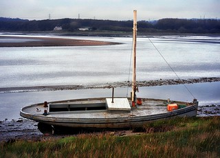 Maud Raby Moored at the River Lune at Glasson, near Lancaster