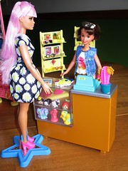 My first Customer (flores272) Tags: skipperdoll daisypop cooltopsskipper barbiefashionistas barbieclothing tsumtsum barbie barbiedoll doll dolls toy toys