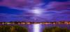 PALM BEACH ISLAND, Florida. (n_nellis) Tags: moon night photography island palm beach florida blu shore water sea boat fuul clouds intercoastal south