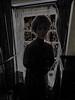 Awaiting the First Ghost of Christmas (Steve Taylor (Photography)) Tags: ghost christmaspast achristmascarol art digital mannequin curtains window lowkey spooky eerie scary creepy frightening uk gb england bars greatbritain unitedkingdom london 221bbakerstreet sherlockholmesmuseum silhouette