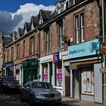 La rue principale, Dingwall, Ross and Cromarty, Ecosse, Royaume-Uni. thumbnail