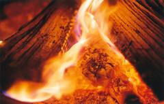 In the Furnace (Jetcraftsofa) Tags: vivitar5528macro pro400h 35mm slr filmphotography furnace fire mtdoom sauron nikonfm
