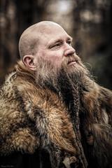 Erik the Viking (Fotografreek) Tags: 100mm canon viking vikings magnificentportraits dutchphotographer bestportrait portrait portraitphotographer malemodel male