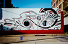 Street Art (RansomedNBlood) Tags: streetart charleston wv westvirginia film 35mm fuji400 modernart