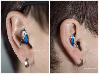 Mann im Ohr Collage