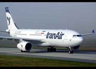A330-243 | Iran Air | EP-IJB | FRA