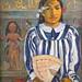 Les Aïeux de Tehamana de P. Gauguin (Grand Palais, Paris)
