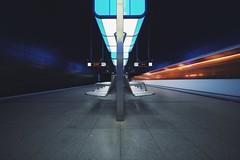 hafencity universität [pt 7 of 7] (christian mu) Tags: subway metro urban ubahn underground architecture vanishingpoint station hafencity haltestellehafencityuniversität longexposure germany hamburg christianmu sonya7ii sony 15mm 1545 voigtländer1545 voigtländer
