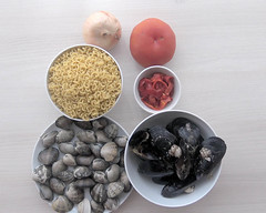 Cazuela de fideos con almejas (Recetas de rechupete) Tags: cazuela fideos almejas platodecuchara